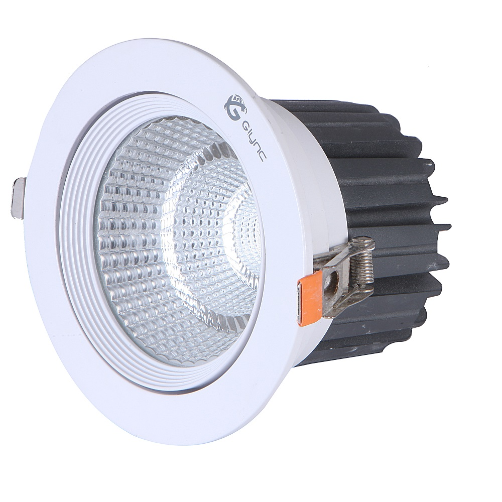 Glync tech pvt ltdflare led ceiling down light 30w flr030c flare led ceiling down light aloadofball Image collections